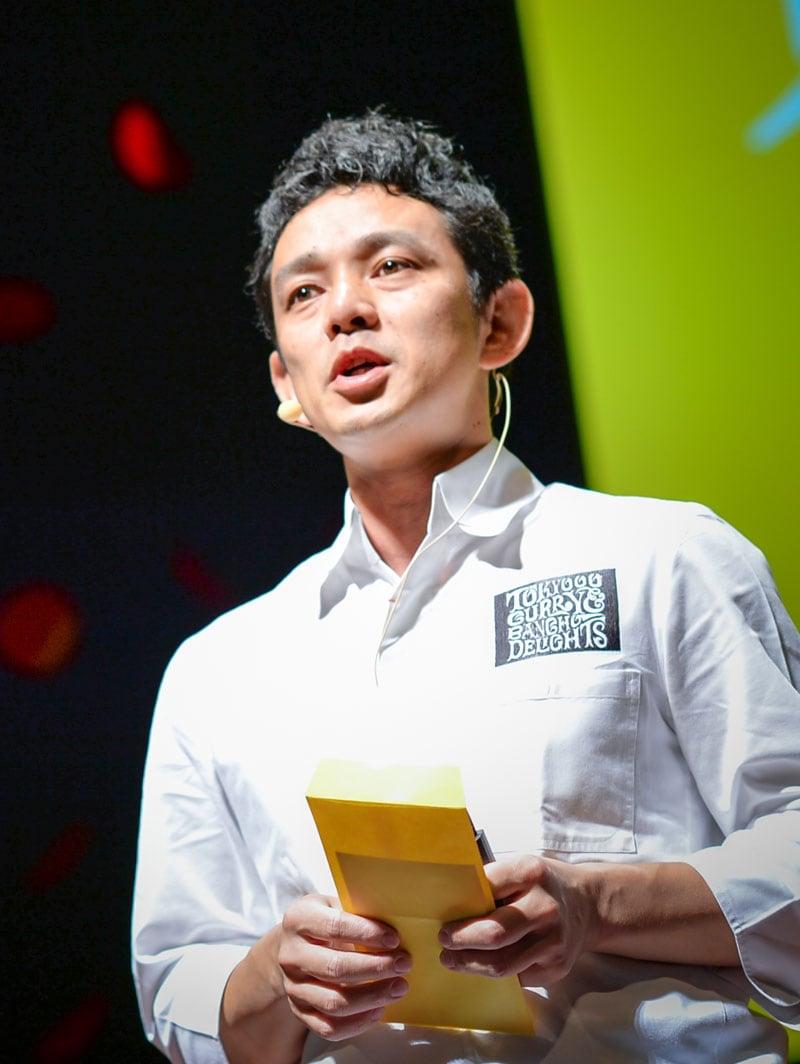 Jinsuke Mizuno 顔写真